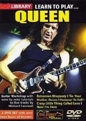 Rent Lick Library: Learn to Play Queen: Vol.1 Online DVD Rental