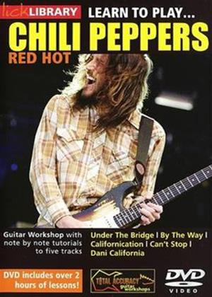 Rent Learn to Play Red Hot Chili Peppers Online DVD Rental