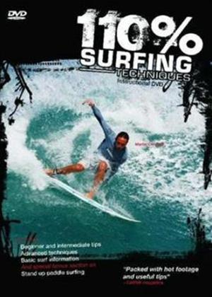 100% Surf Techniques Online DVD Rental