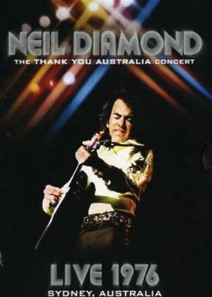 Neil Diamond: Thank You Austrailia 1976 Online DVD Rental