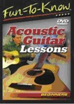 Rent Acoustic Guitar Lessons for Beginners Online DVD Rental