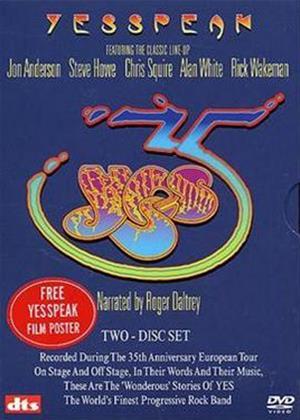 Yes: Speak: The 35th Anniversary Online DVD Rental