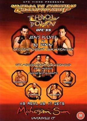 Rent Ultimate Fighting Championship 35: Throwdown Online DVD Rental
