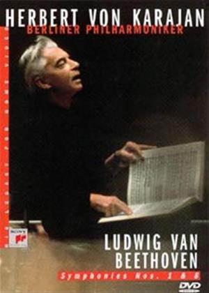 Rent Beethoven: Symphonies 1 and 8: Herbert Von Karajan Online DVD Rental