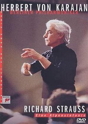 Strauss: Alpine Symphony: Herbert Von Karajan Online DVD Rental