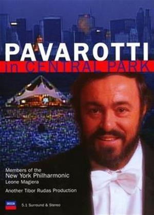 Rent Luciano Pavarotti: In Central Park Online DVD Rental