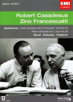 Rent Robert Casadesus / Zino Francescatti Online DVD Rental
