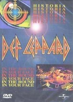 Rent Def Leppard: Historia / In the Round In Your Face Online DVD Rental