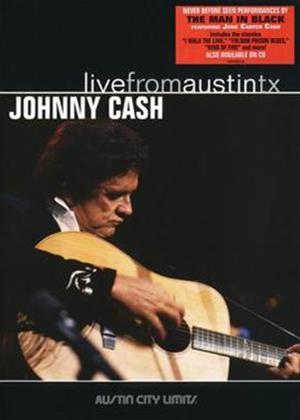 Johnny Cash: Live from Austin Online DVD Rental