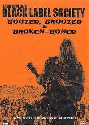 Rent Zakk Wylde's Black Label Society: Boozed Online DVD Rental