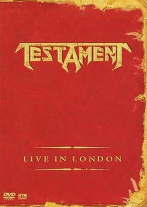 Testament: Live in London Online DVD Rental