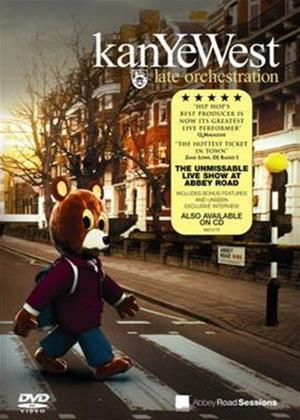 Kanye West: Late Orchestration Online DVD Rental