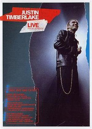 Justin Timberlake: Live from London Online DVD Rental