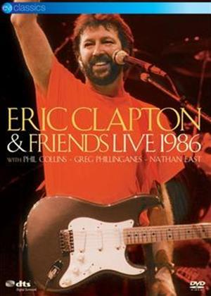 Rent Eric Clapton and Friends: Live Online DVD Rental