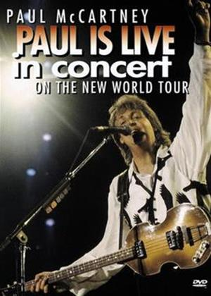 Paul McCartney: Paul Is Live in Concert Online DVD Rental
