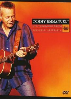Rent Tommy Emmanuel: Live at Her Majesty's Theatre Ballarat, Australia Online DVD Rental