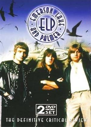 Emerson, Lake and Palmer: The Definitive Critical Review Online DVD Rental