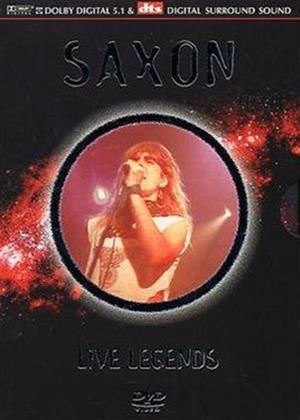 Saxon: Live Legends Online DVD Rental