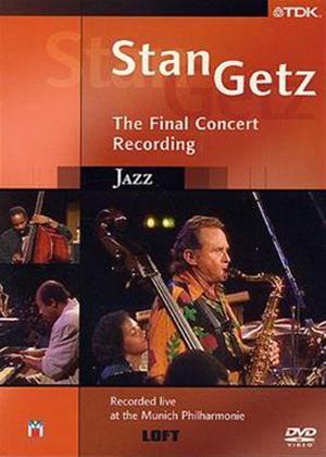 Rent Stan Getz: The Final Recording Online DVD Rental
