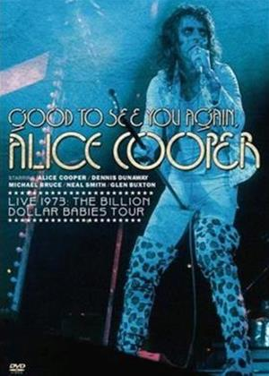 Alice Cooper: Good to See You Again: Live Online DVD Rental