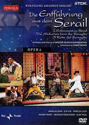 Mozart: Die Entfuhrung Aus Dem Serail: Zubin Mehta Online DVD Rental