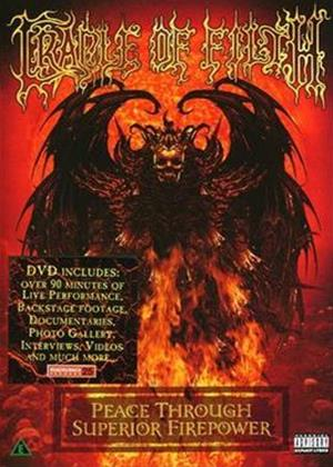 Cradle of Filth: Peace Through Superior Firepower Online DVD Rental