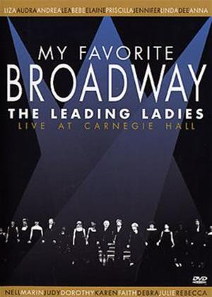 My Favourite Broadway: The Leading Ladies: Live at Carnegie H Online DVD Rental