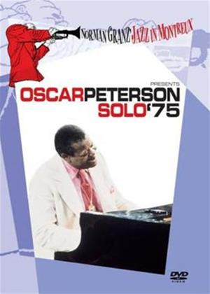 Oscar Peterson: Solo '75: Norman Granz Jazz at Montreux Online DVD Rental