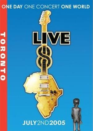 Rent Live 8: Toronto Online DVD Rental