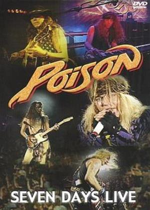 Poison: Seven Days Live Online DVD Rental