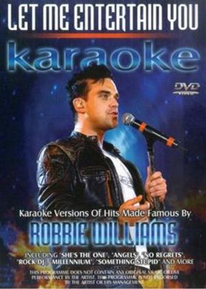 Rent Karaoke Versions of Hits Made Famous by Robbie Williams Online DVD Rental