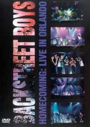 Backstreet Boys: Homecoming: Live in Orlando Online DVD Rental