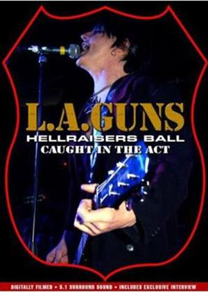 L.A. Guns: Hellraisers Caught in the Act Online DVD Rental