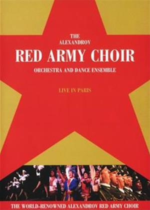 The Red Army Choir Orchestra and Dance Ensemble: Live in Paris Online DVD Rental