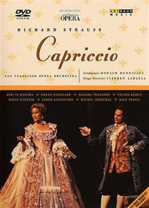 Richard Strauss: Capriccio Online DVD Rental