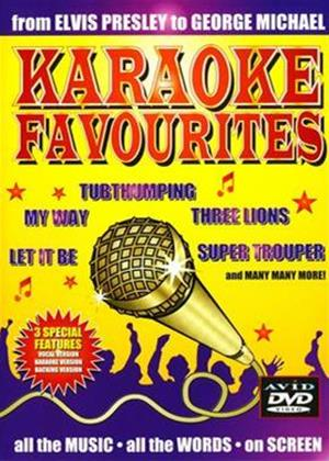 Rent Karaoke Favourites Online DVD Rental