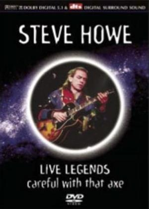 Rent Steve Howe: Live Legends Online DVD Rental