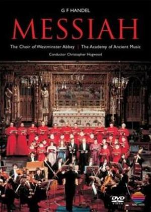 Rent Handel: Messiah: Christopher Hogwood Online DVD Rental