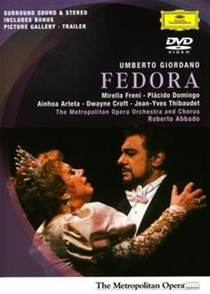 Rent Giordano: Fedora: Metropolitan Opera Online DVD Rental