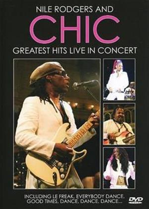Nile Rodgers and Chic: Greatest Hits Live Online DVD Rental