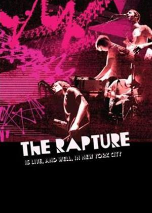 The Rapture: The Rapture Is Live and Well in New York City Online DVD Rental