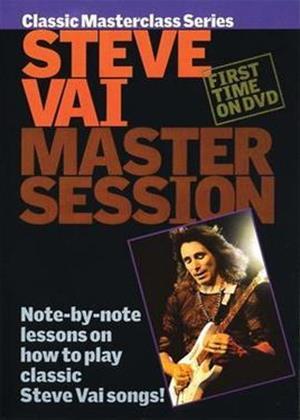 Rent Master Session: Steve Vai Online DVD Rental