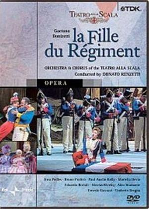Rent Donizetti: La Fille Du Regiment: Teatro alla Scala Milan Online DVD Rental