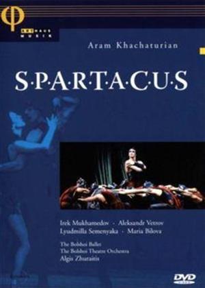 Khachaturian: Spartacus: Bolshoi Theatre Online DVD Rental