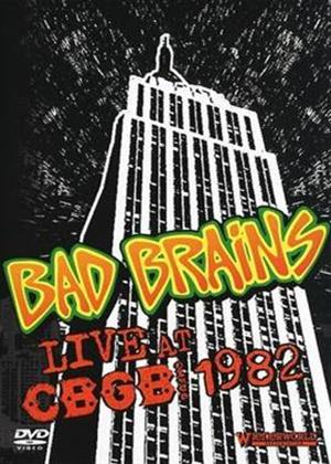 Bad Brains: Live at CBGB 1982 Online DVD Rental