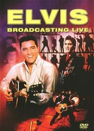 Elvis Presley: Broadcasting Live Online DVD Rental