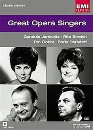 Rent Great Opera Singers Online DVD Rental