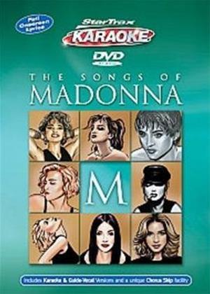 Startrax Karaoke: Madonna Online DVD Rental