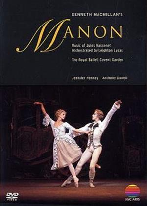 Manon: The Royal Opera House Online DVD Rental
