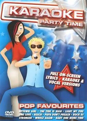 Karaoke Party Time: Pop Favourites Online DVD Rental